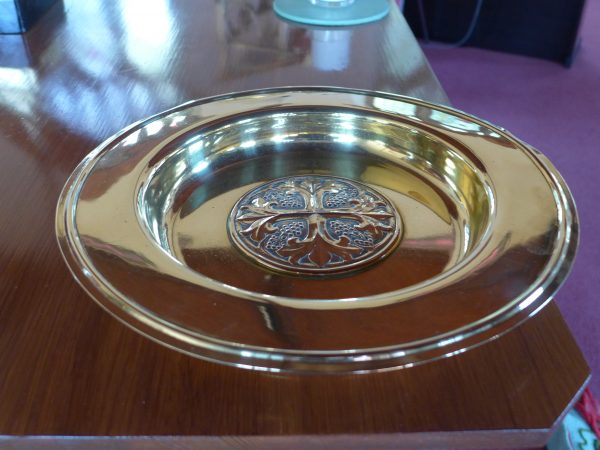 The communion plate