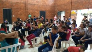 Community day in the new church in Paraguay - supported by Malvern Link URC