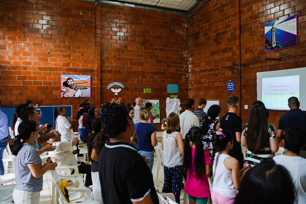 Judith's final service in San Isidrio, Paraguay